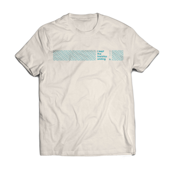 White T-shirt Corona Support limited edition